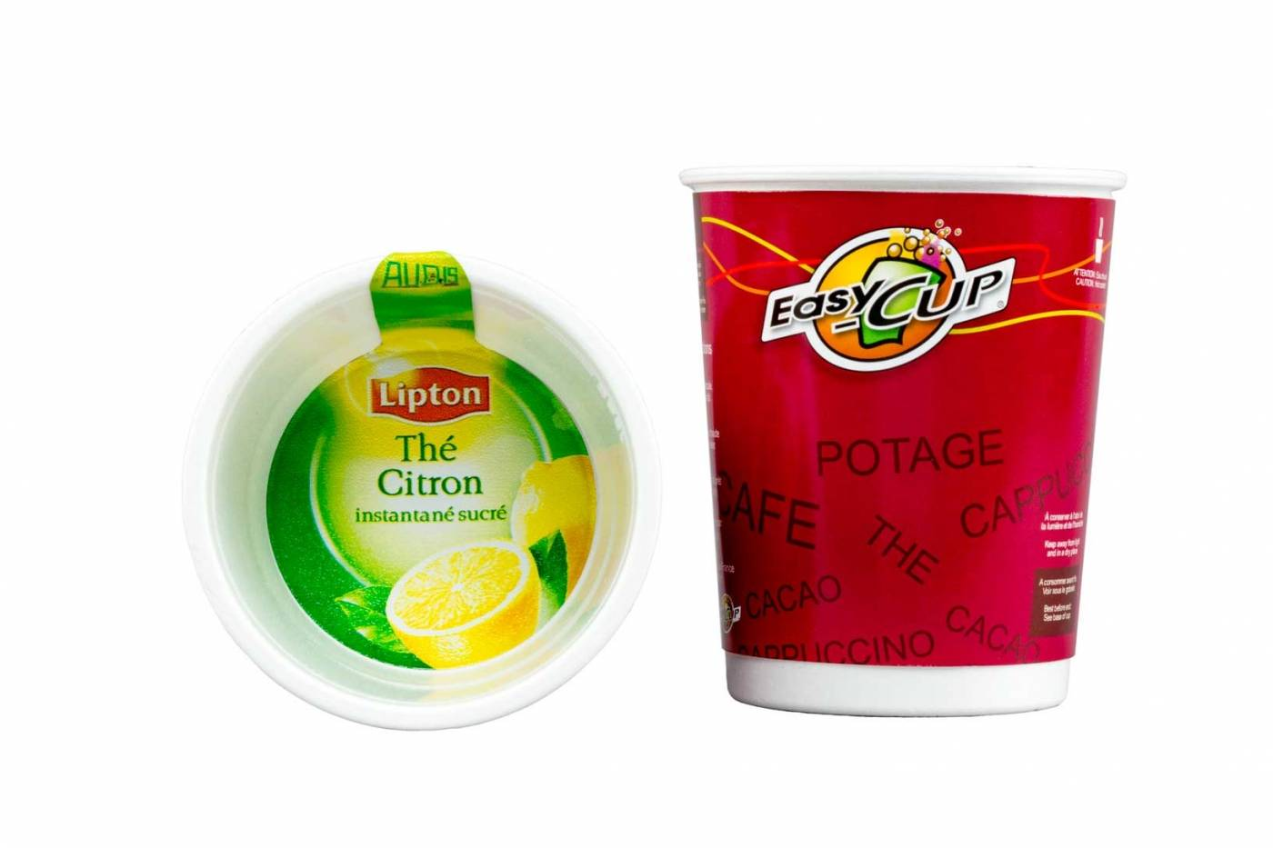 gobelet easy cup lipton the citron